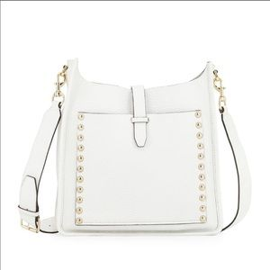 {Rebecca Minkoff} Studded Unlined Leather Feedbag